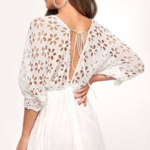 NWT Medium Free People Ivory Dress
